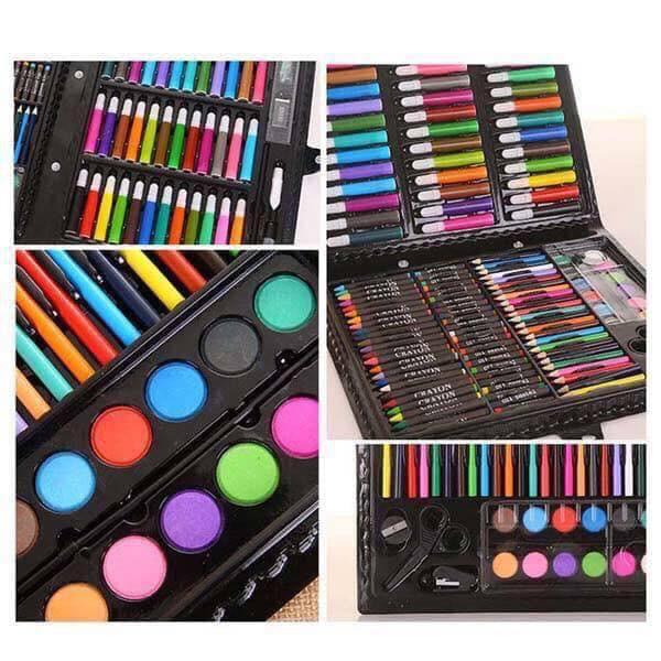 Bộ bút màu 150 chi tiết