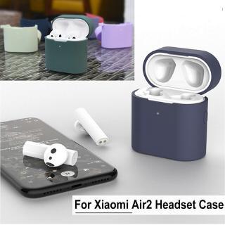 Vỏ Silicone Chống Sốc Cho Hộp Sạc Tai Nghe Xiaomi Air 2 / Air 2s