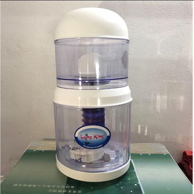 Bình lọc nước cây nóng lạnh 16L Lõi lọc 5 Tầng than hoạt tính thế hệ mới 2020 Bình lọc nước uống trực tiếp cao cấp