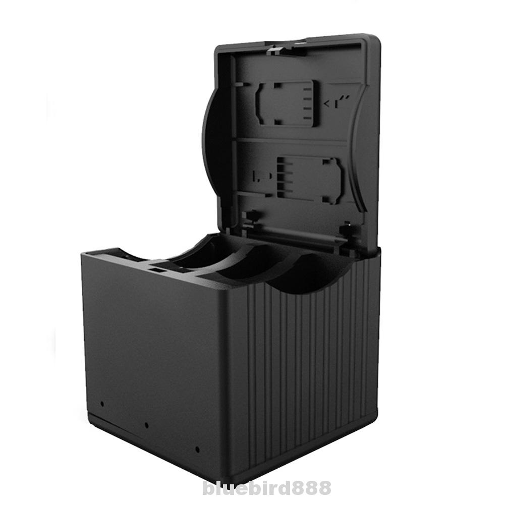 Battery Charging Box Circuit Protection Action Camera Accessories Multifunction Smart Type-c Storage For DJI OSMO