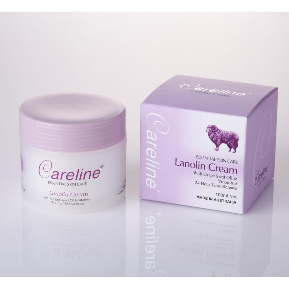 Kem Dưỡng Ẩm Cừu Careline Lanolin Cream 100ml
