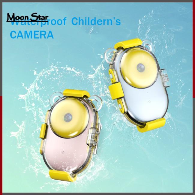 Cute Donut Video Children HD Color Image Cartoon Kids Digital Camera Waterproof