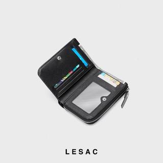 Hình ảnh [Mã SKAMPUSH10 giảm 10% đơn 200K] Ví nữ mini LESAC Stand Wallet-5