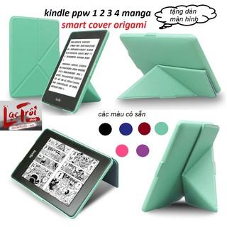 [Kindle Paperwhite 1234 – voyage] Smart Cover Origami – bao da thông minh để bàn