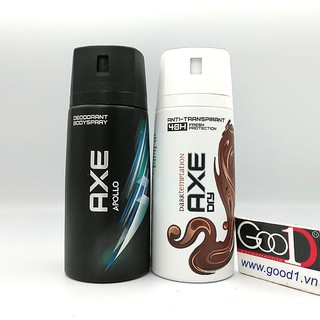 Xịt khử mùi toàn thân AXE 150ml UK cao cấp thumbnail