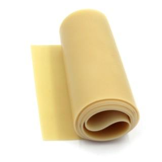 FREESHIP ĐƠN 99K_(0.8mm) Cuộn 1m thun Latex Malaysia dày 0.8mm (Màu vàng trong)