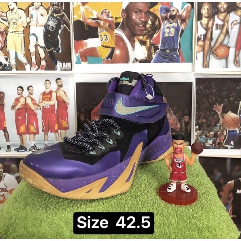 Giày bóng rổ Lebron soldier tím