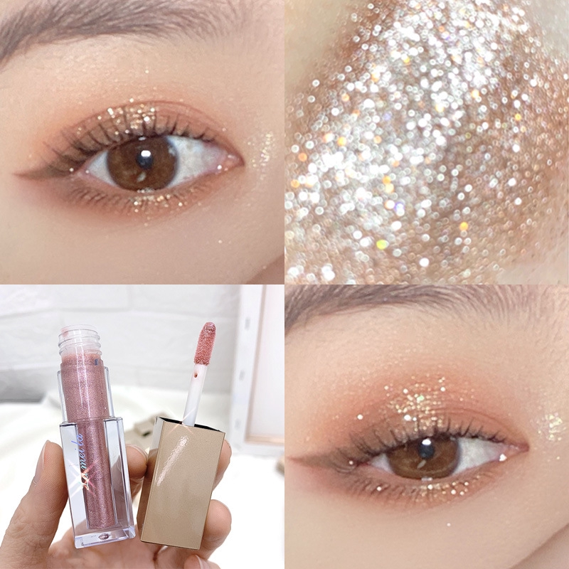 Gel ánh nhũ trang điểm mắt tăng độ quyến rũ với 6 màu tùy chọn