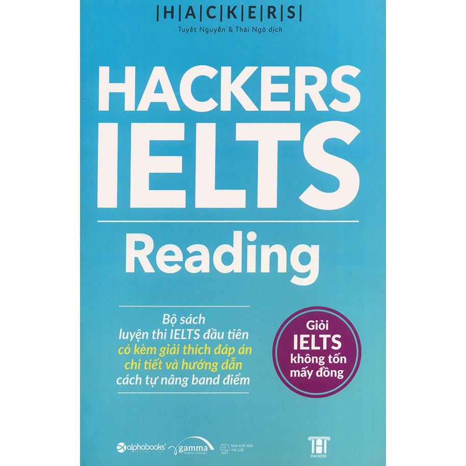 Sách - Hacker IELTS Reading | Shopee Việt Nam