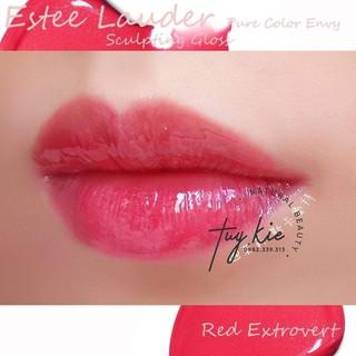 [ Fullsize Tách sét 2019 ] Son bóng Estee Lauder Pure color envy màu 330 Red Extrovert thumbnail