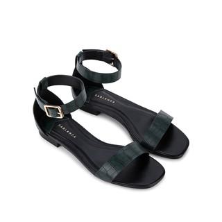 [Mã FAMALLT5 giảm 15% đơn 150k] Giày Sandal đế bệt vân da cá sấu - Sablanca 5050SK0041