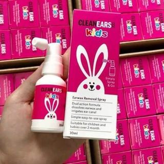Xịt tan ráy tai Clean Ears K 30ml của Úc