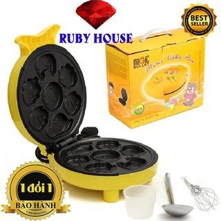 Nướng bánh hình thú, máy nướng bánh 7 khuôn, nướng bánh nhanh,tạo ra những chiếc bánh dễ thương cute-Ruby House