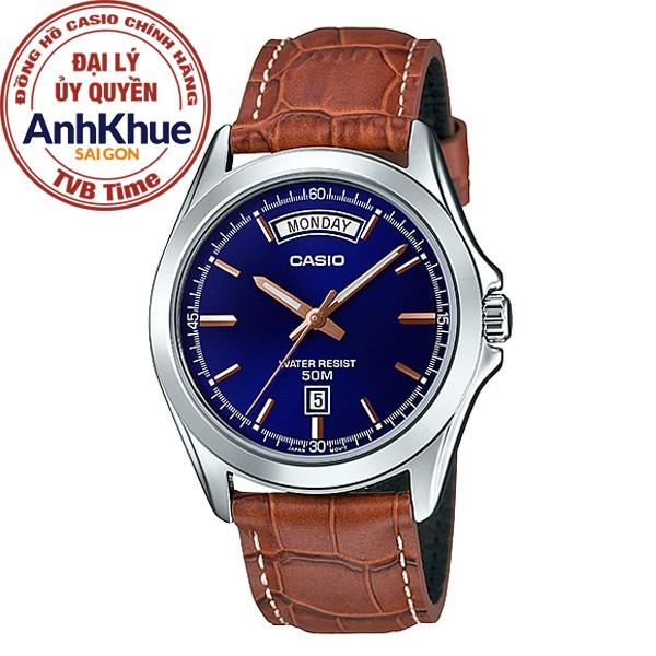 Đồng hồ nam Casio Standard chính hãng Anh Khuê MTP-1370L-2AVDF