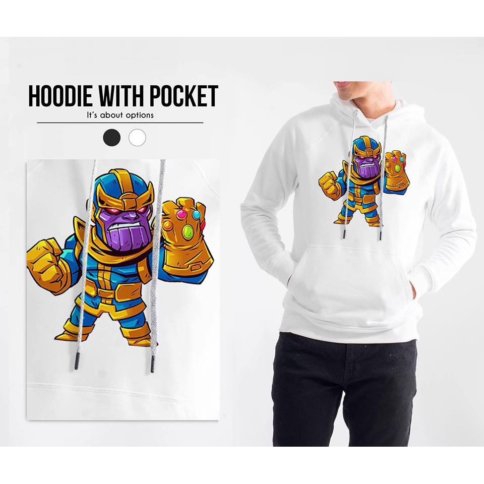 Áo hoodie Thanos - Marvel comics - Áo khoác nỉ