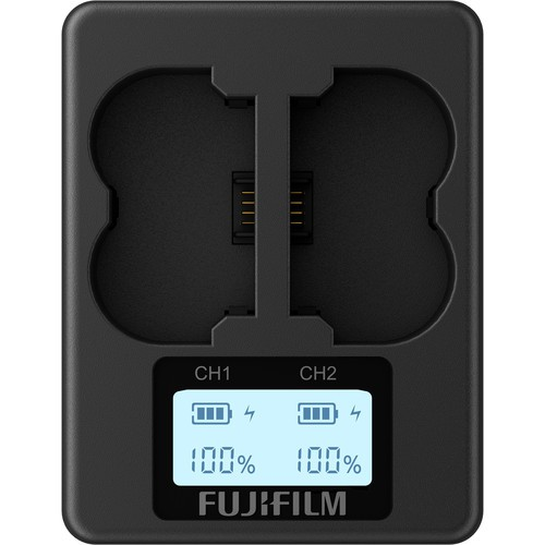 Sạc đôi FUJIFILM BC-W235 Cho Pin NP-W235 ( Máy Ảnh Fujifilm X-T4 ) - Chính Hãng Fujifilm Việt Nam