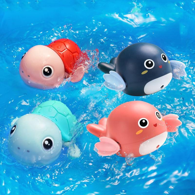 Đồ chơi bể bơi lên dây cót hình động vật cho bé