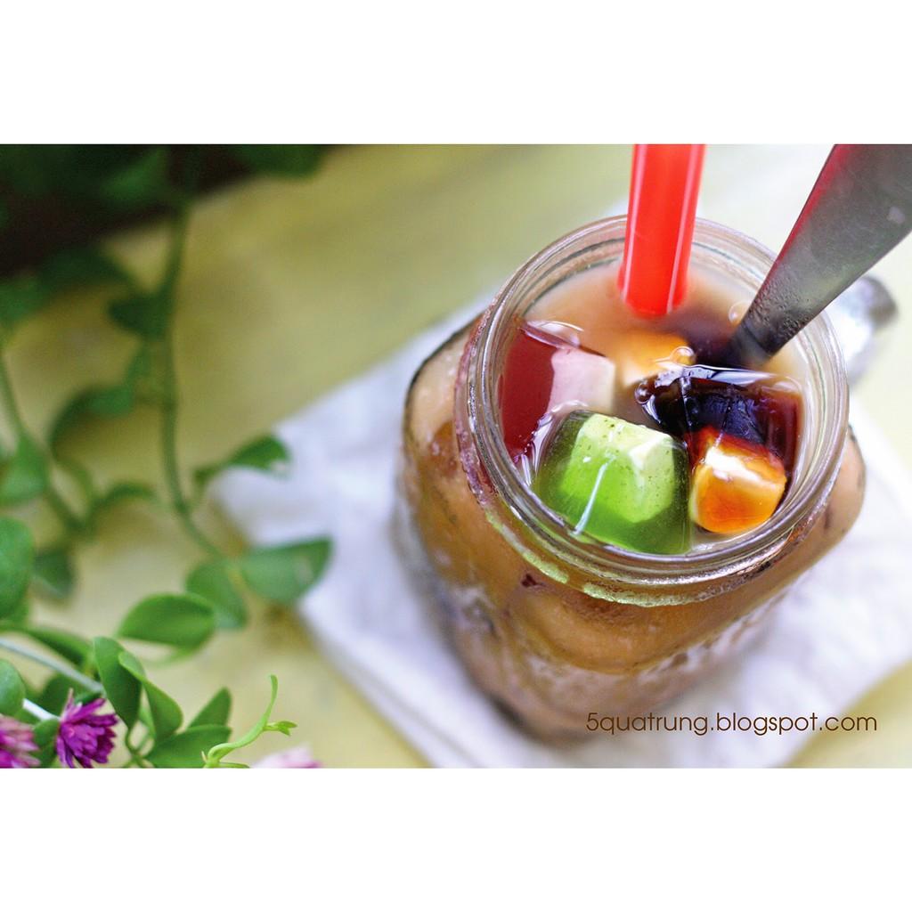 Combo trà sữa: kem béo thái lan, siro thanh hương, tép sấy