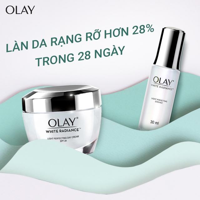 Kem Dưỡng Trắng Da Ban Ngày Olay White Radiance Light Perfecting Day Cream SPF24 50g