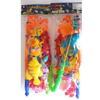 Bộ đồ chơi câu cá 2 cần cho bé