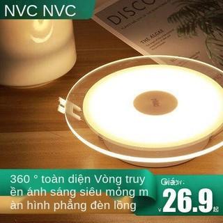 Đèn LED chiếu sáng RADEE, nhúng 5W, làm mờ ba màu, phòng khách, ánh sáng lỗ, ánh sáng 8 m, tuần hoàn toàn diện, ánh sáng thumbnail