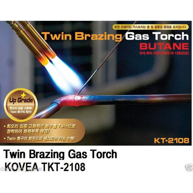 [FREESHIP] Máy khò hàn giá rẻ - Bút Khò Gas Hàn Thiếc ống đôi Mini Bếp khò gas - Sử dụng bình gas mini