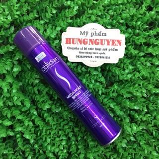 (Siêu khuyến mãi )gôm xịt tóc cứng Obsidian Mega Hold Spray 300 ml