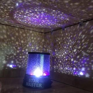 Đèn ngủ chiếu sao Star Master – Đèn trang trí sinh nhật, bầu trời sao, dải thên hà