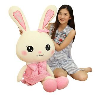Gấu Bông Thỏ Bông Cute Size 80cm - Quà Tặng Quà Sinh Nhật Ý Nghĩa thumbnail