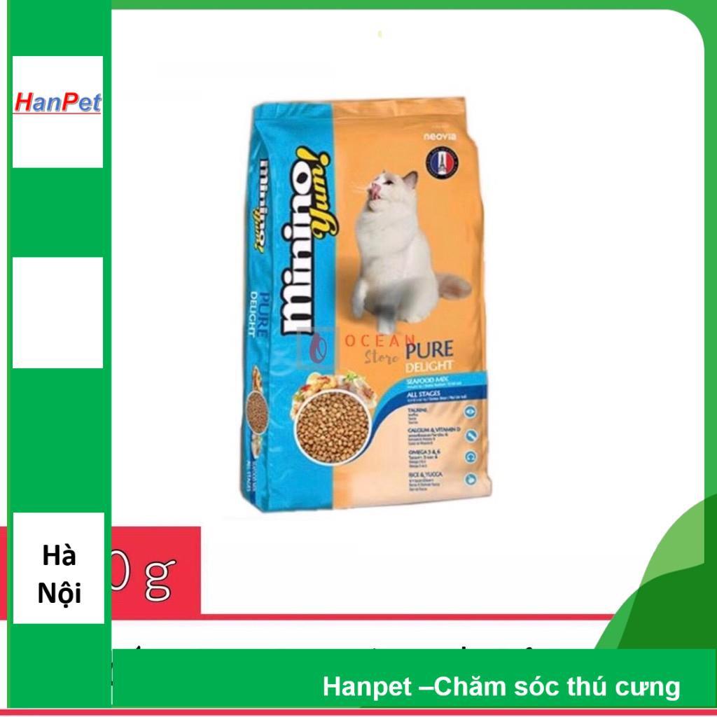 (GIÁ SẬP SÀN) Thức ăn mèo MininoYum 350gr cho mèo trưởng thành (hanpet 203)