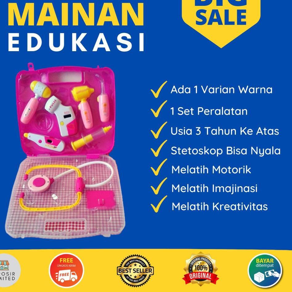 ✷➤ Bộ đồ chơi bác sĩ giáo dục bổ ích cho bé