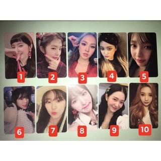 Card official album Red Velvet