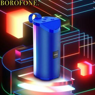 Loa không dây kết nối bluetooth mini Borofone BR5 công nghệ 5.0 nghe nhạc 5 gọi điện đèn lea nhiều mầu chính hãng