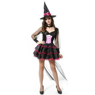 trang phục halloween phù thủy cho người lớn