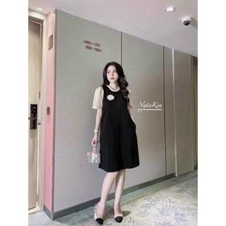 Váy Xuông Cài Hoa Hàng Đẹp