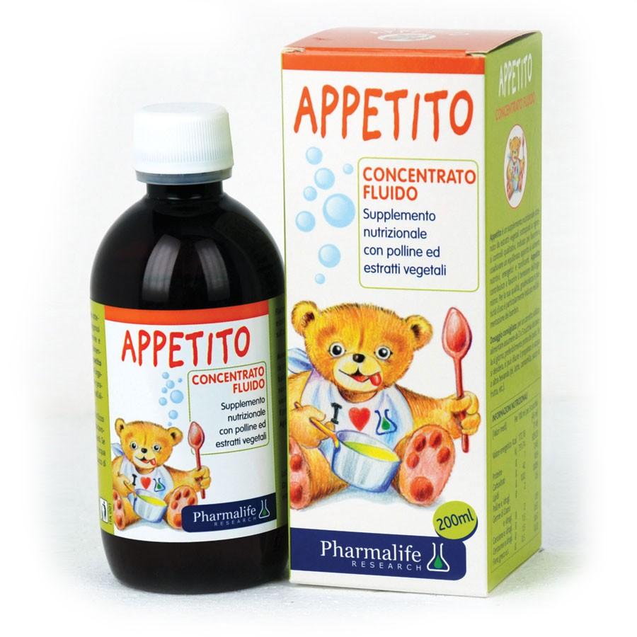 Siro kích thích ăn ngon tự nhiên Appetito Bimbi Pharmalife