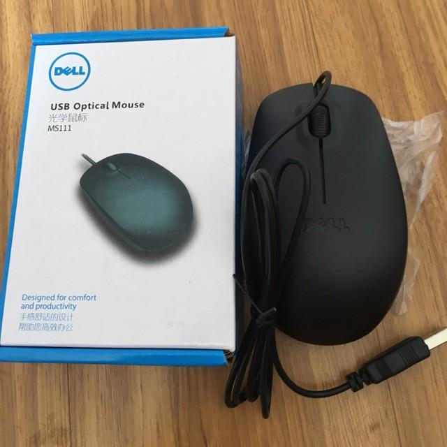 Chuột quang Dell có dây ms111 cổng usb Giá chỉ 24.000₫