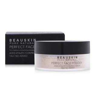 Phấn phủ bột siêu mịn lâu trôi kiềm dầu Perfect Face Powder Beauskin Hàn quốc 30g Hộp