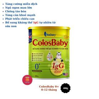 Sữa bột ColosBaby 0 400g-ib giá ưu đãi