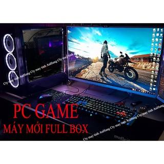 [MÁY MỚI] Bộ máy tính chơi GAME i3 màn 24 cong mới full box LOL, FIFA, CF, PUBG Mobile, game giả lập giá rẻ