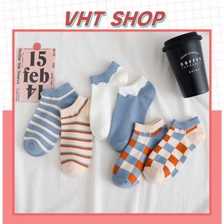 Tất nữ phong cách Valentine ngọt ngào TC73 - VHT SHOP thumbnail