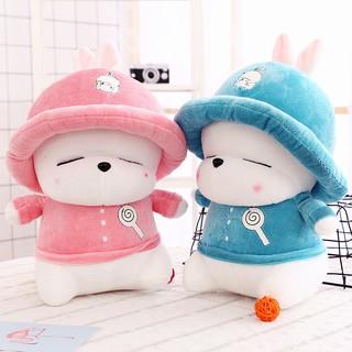 Gấu bông , Cún bông đội mũ cute size 30cm