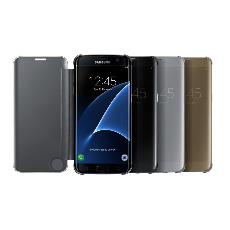 Bao da Clear View Samsung Galaxy S7 Edge
