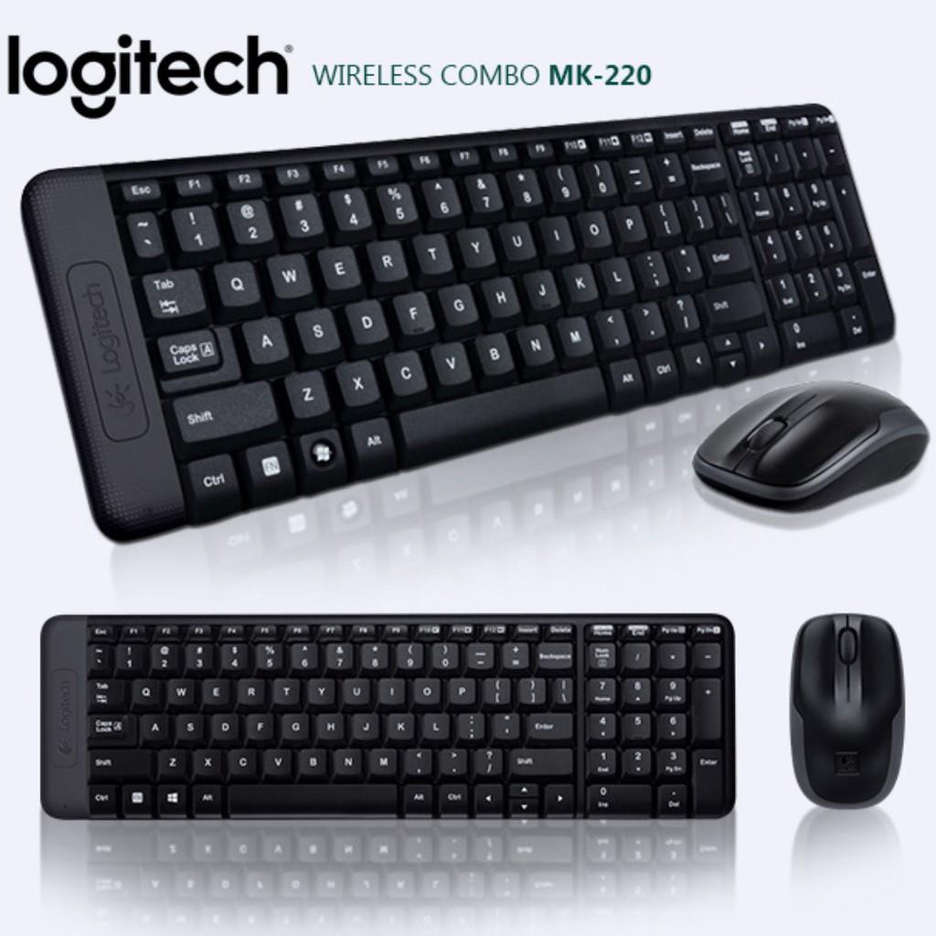 Logitech MK220 Giá chỉ 250.000₫