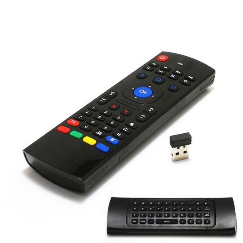 Bàn phím chuột bay KM800   Bàn phím không dây AIR MOUSE KM800