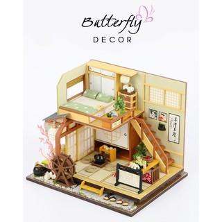 [KÈM QUÀ TẶNG] Mô Hình DIY Nhà Nhật Bản_Bu