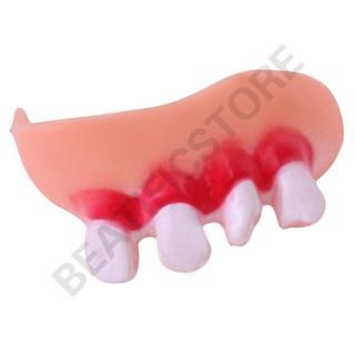 Răng giả hóa trang ngày Halloween vui nhộn bán nghỉ