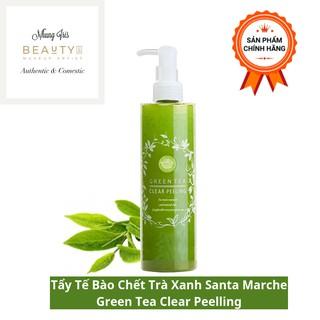 [ CHÍNH HÃNG - CÓ BILL ] Tẩy Da Chết Santa Marche Green Tea Clear Peeling Dạng Gel 200g thumbnail