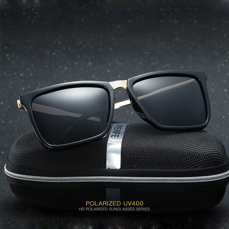 Mắt kính thời trang Unisex PE309 - Tròng Polaroid