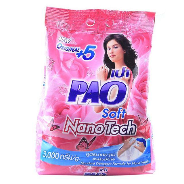 Bột giặt Pao 3kg Thái Lan